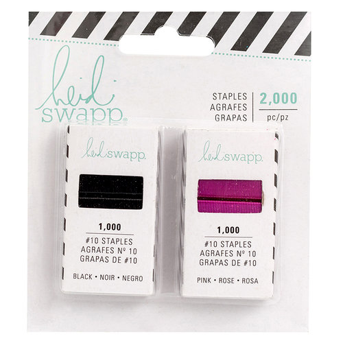 Heidi Swapp - Color Fresh Collection - Memory Planner - Staple Refill