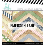 Heidi Swapp - Emerson Lane Collection - 6 x 6 Paper Pad