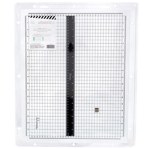 Heidi Swapp - MINC Collection - Magnetic Cut Mat and Ruler