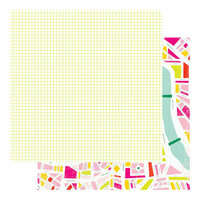 Heidi Swapp - Color Fresh Collection - 12 x 12 Double Sided Paper - Urban Jungle