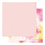 Heidi Swapp - Color Fresh Collection - 12 x 12 Double Sided Paper - Paint The Town