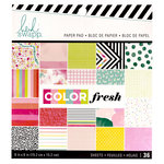 Heidi Swapp - Color Fresh Collection - 6 x 6 Paper Pad