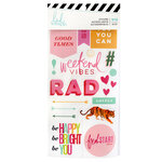 Heidi Swapp - Color Fresh Collection - Sticker Book with Foil Accents