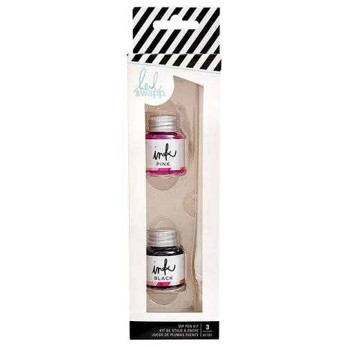 Heidi Swapp - Color Fresh Collection - Dip Pen Kit