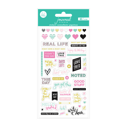 Heidi Swapp - Journal Studio Collection - Puffy Stickers - Good Stuff
