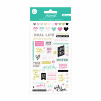 Heidi Swapp - Journal Studio Collection - Puffy Stickers - Good Stuff