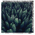 Heidi Swapp - Wolf Pack Collection - 12 x 12 Double Sided Paper - Aerial