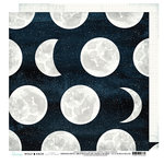 Heidi Swapp - Wolf Pack Collection - 12 x 12 Double Sided Paper - Over The Moon