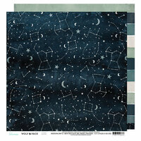 Heidi Swapp - Wolf Pack Collection - 12 x 12 Double Sided Paper - Zodiac