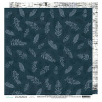 Heidi Swapp - Wolf Pack Collection - 12 x 12 Double Sided Paper - Woodland