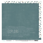 Heidi Swapp - Wolf Pack Collection - 12 x 12 Double Sided Paper - Explore