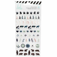 Heidi Swapp - Wolf Pack Collection - Puffy Stickers