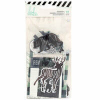 Heidi Swapp - Wolf Pack Collection - Ephemera with Foil Accents