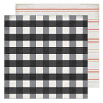 Heidi Swapp - Winter Wonderland Collection - 12 x 12 Double Sided Paper - Warm & Cozy