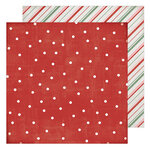 Heidi Swapp - Winter Wonderland Collection - 12 x 12 Double Sided Paper - Falalala