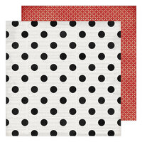 Heidi Swapp - Winter Wonderland Collection - 12 x 12 Double Sided Paper - Christmas Cheer