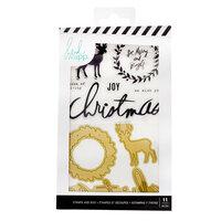 Heidi Swapp - Winter Wonderland Collection - Stamp And Die Set