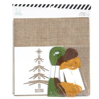 Heidi Swapp - Winter Wonderland Collection - Album Kit with Gold Foil Accents