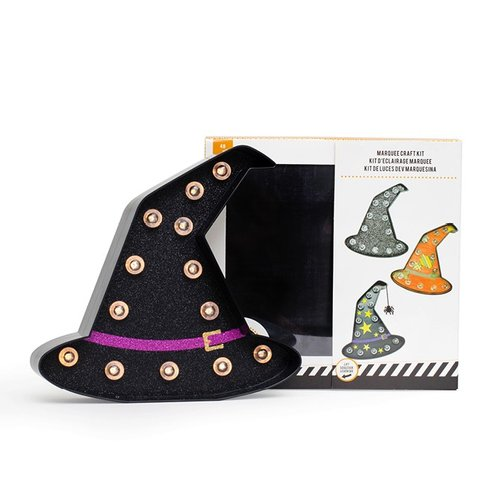 Heidi Swapp - Marquee Love Collection - Halloween - DIY Marquee Kit - Witch Hat