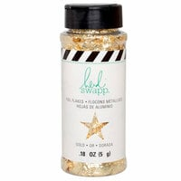 Heidi Swapp - Magnolia Jane Collection - Foil Flakes - Gold
