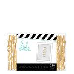 Heidi Swapp - Letterboard - Alphabet - .5 Inch - Sans Serif - Gold
