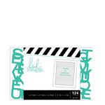 Heidi Swapp - Letterboard - Alphabet - .5 Inch - Sans Serif - Teal