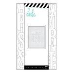 Heidi Swapp - Letterboard - Alphabet - 2 Inches - Sans Serif - White