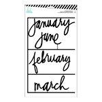 Heidi Swapp - Letterboard - Kit - Months