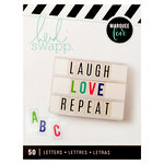 Heidi Swapp - LightBox Collection - Alphabet Inserts - Multi Color Bold