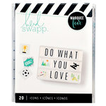 Heidi Swapp - LightBox Collection - Icon Inserts - Hobbies