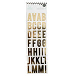 Heidi Swapp - LightBox Collection - Alphabet Stickers - Gold Foil