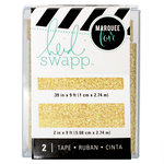 Heidi Swapp - LightBox Collection - Tape Set - Gold Glitter