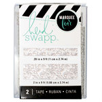 Heidi Swapp - LightBox Collection - Tape Set - Silver Glitter