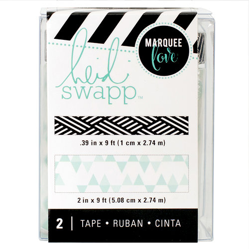Heidi Swapp - LightBox Collection - Tape Set - Washi - Teal