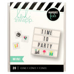 Heidi Swapp - LightBox Collection - Mini Icon Inserts - Party