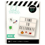 Heidi Swapp - LightBox Collection - Mini Icon Inserts - Holiday