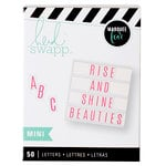 Heidi Swapp - LightBox Collection - Mini Alpha Inserts - Thin Pink