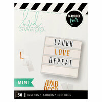 Heidi Swapp - LightBox Collection - Mini Blank Inserts - Blank