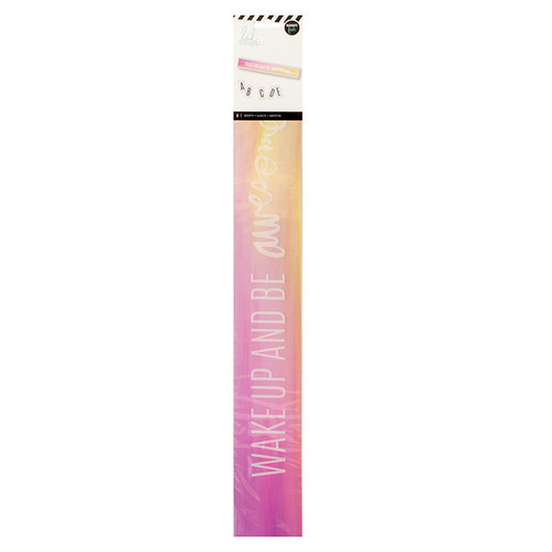 Heidi Swapp - LightBox Collection - Lightbox Shelf Inserts - Wake Up