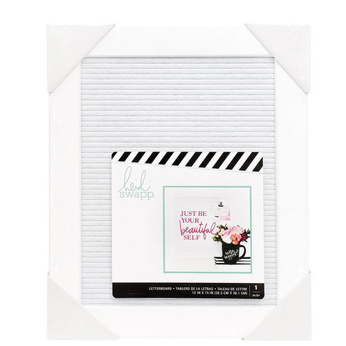 Heidi Swapp - Letterboard - Frame - 12 x 15 - Medium