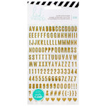 Heidi Swapp - Memory Planner - Vinyl Stickers with Glitter Accents - Alphabet