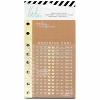 Heidi Swapp - Memory Planner - Planner Inserts - Give Thanks with Foil Accents