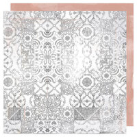 Heidi Swapp - Honey and Spice Collection - 12 x 12 Double Sided Paper - Terraza