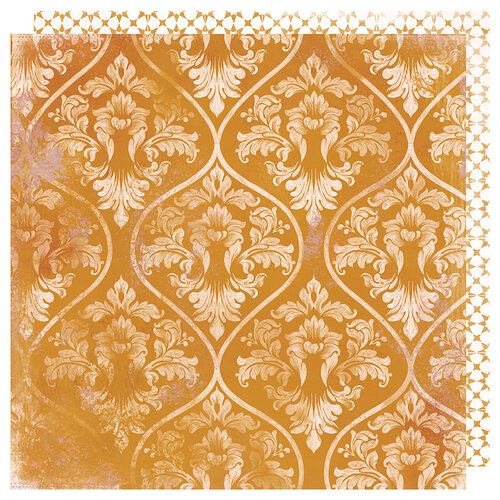Heidi Swapp - Honey and Spice Collection - 12 x 12 Double Sided Paper - Marmalade