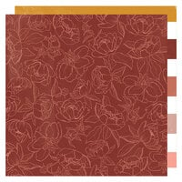 Heidi Swapp - Honey and Spice Collection - 12 x 12 Double Sided Paper - Cider House