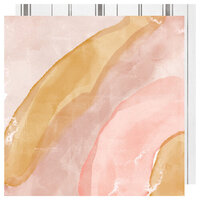 Heidi Swapp - Honey and Spice Collection - 12 x 12 Double Sided Paper - Everglow
