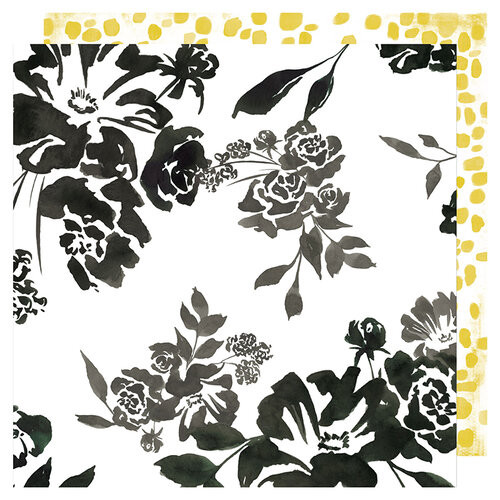 Heidi Swapp - Honey and Spice Collection - 12 x 12 Double Sided Paper - Flourish