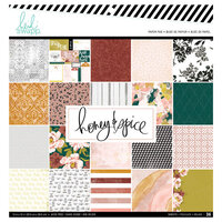 Heidi Swapp - Honey and Spice Collection - 12 x 12 Paper Pad