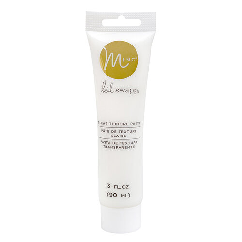 Heidi Swapp - MINC Collection - Texture Paste - Clear
