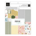 Heidi Swapp - Storyline Chapters Collection - 7.5 x 9.5 Project Pad - The Scrapbooker
